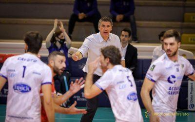 Il tour de force della Top Volley Cisterna per chiudere il 2020. Kovac: «Con pochi allenamenti e viaggiando molto dovremo recuperare i giocatori»