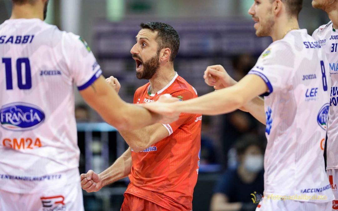 Domani (sabato) alle 17:00 la Top Volley Cisterna sarà impegnata a Modena. Cavaccini: «Non sarà semplice, cerchiamo un'altra buona prestazione»
