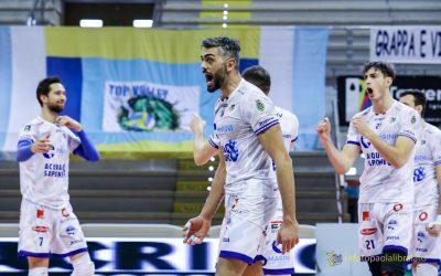 La Top Volley Cisterna torna a vincere e sorride. Vibo superata al quinto set di una partita intensa. Sabbi: «Questa vittoria è una liberazione»