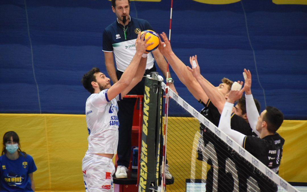 Play-off 5°posto La Top Volley Cisterna lotta a Verona ma non basta. Cavaccini: «Abbiamo lottato e siamo amareggiati per il risultato. Sul campo ci siamo espressi in maniera diversa rispetto al campionato»