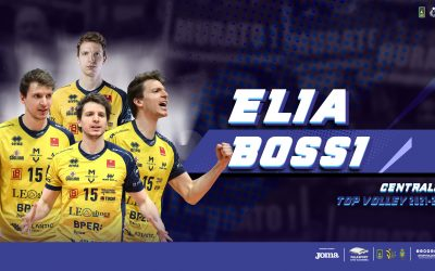 Elia Bossi nuovo centrale della Top Volley
