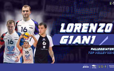 Lorenzo Giani nuovo palleggiatore della Top Volley