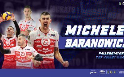 Michele Baranowicz è il nuovo palleggiatore della Top Volley