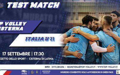 TEST MATCH: Top Volley Cisterna – Italia u21