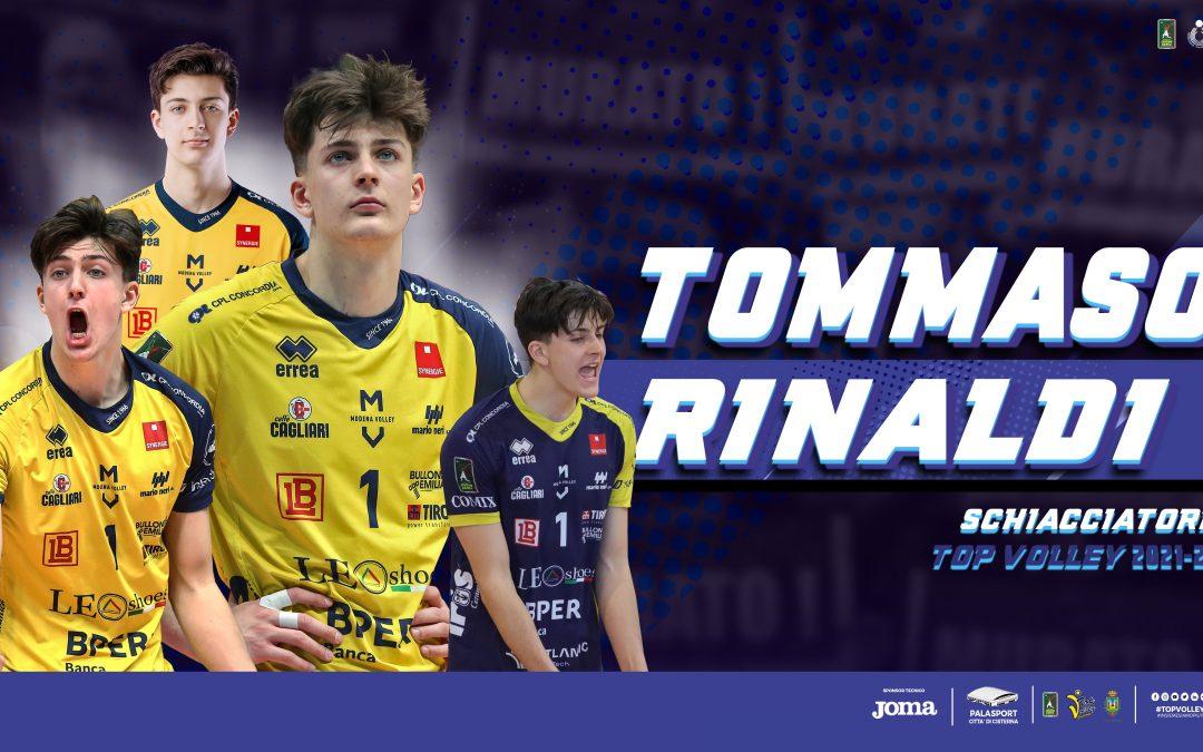 Tommaso Rinaldi è il nuovo schiacciatore della Top