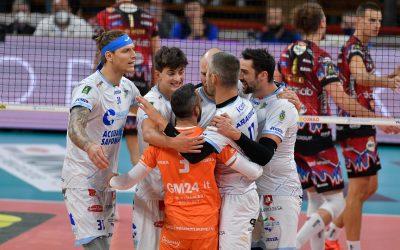 Cisterna cade a Perugia in un match punto a punto