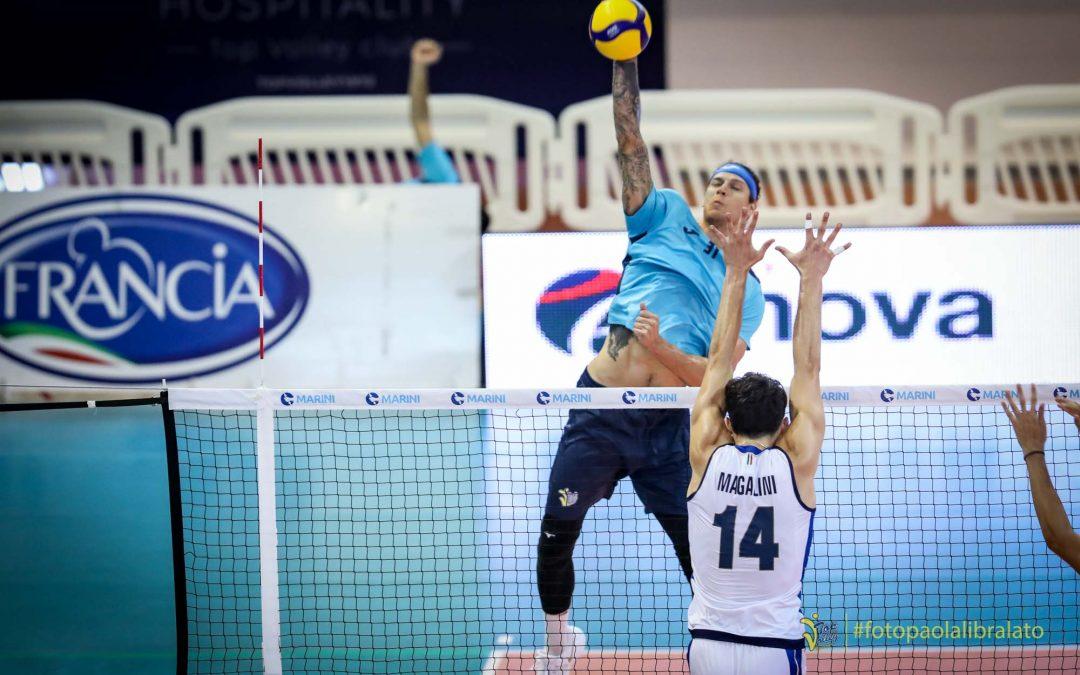 Amichevole: Top Volley Cisterna – Italia u21